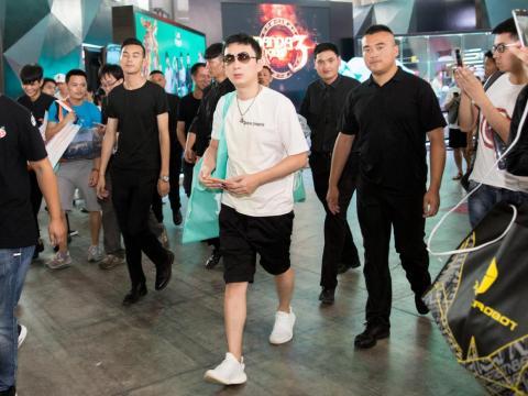 Wang Sicong, el único hijo del multimillonario Wang Jianlin.