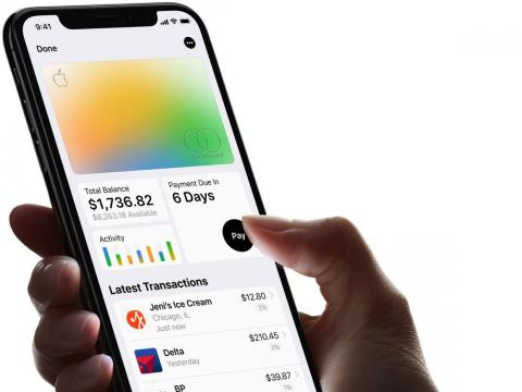 The way your digital Apple Card will change color based on your spending habits: