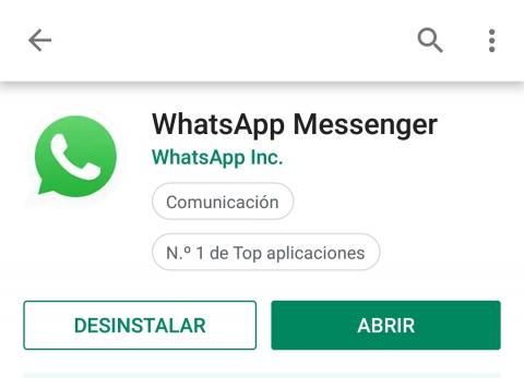 whatsAapp pantallazo