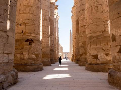 While most people visit Egypt to visit the Pyramids, I found the most fascinating sights in the country to be the abundance of ancient Egyptian ruins, burial sites, temples, and hieroglyphs in the south.