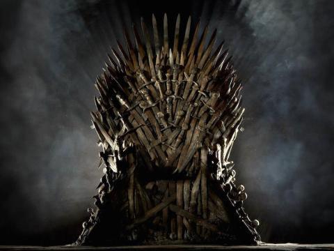 El Trono de Hierro.