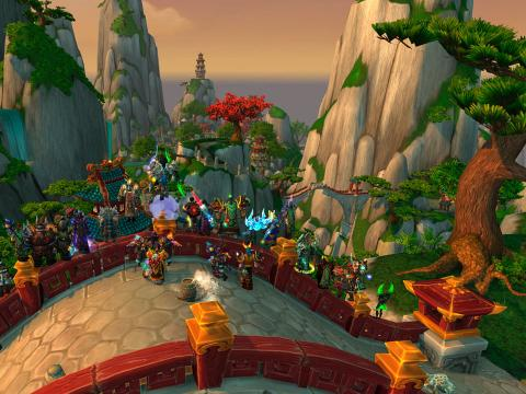 World of Warcraft, producido por Blizzard Entertainment.