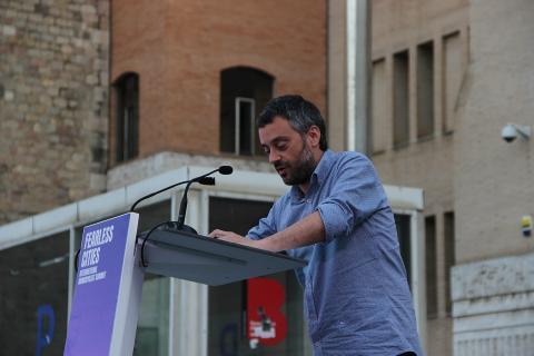 Xulio Ferreiro, candidato de la Marea Atlántica a la alcaldía de A Coruña