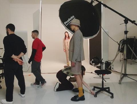 Zara Studios sesión masculina