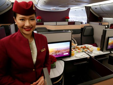 Qatar Airways.