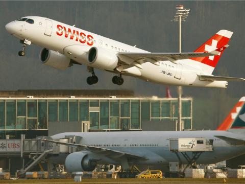 Swiss International Air Lines.