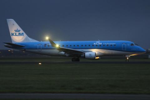 KLM Royal Dutch Airlines.