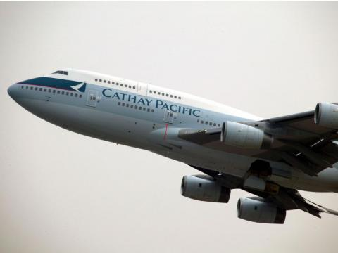 Cathay Pacific Airways.