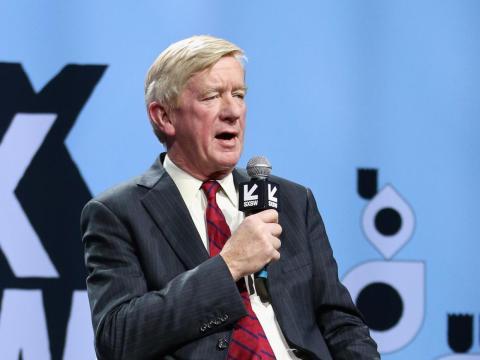 El exgobernador de Massachusetts, Bill Weld.