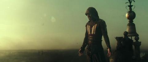 "Michael Fassbender in the ""Assassin's Creed"" movie — next-gen games won't look as good as the films."
