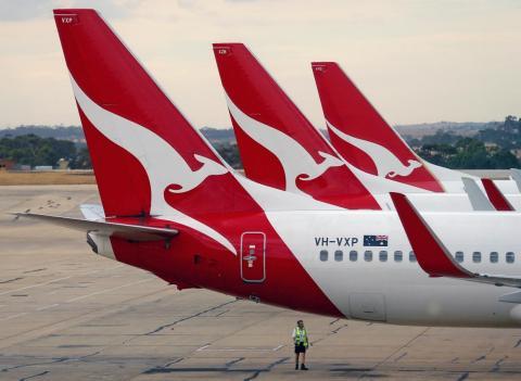 Qantas Airways.