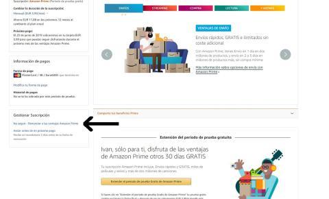 Acceso a cuenta Amazon Prime
