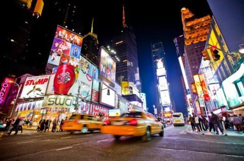 La ciudad que nunca duerme contribuye a la contaminación lumínica.