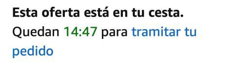 Amazon Oferta Flash Tramitar