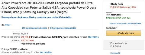 Amazon Oferta Flash