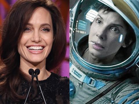 Angelina Jolie y Sandra Bullock.