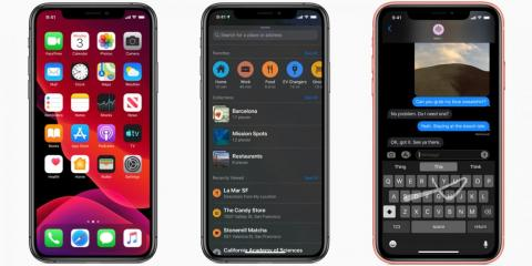 Apple is finally adding 'dark mode' to the next version of the iPhone's operating system — here's how your iPhone will look in dark mode