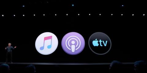 Apple is replacing the iTunes app in macOS Catalina with three separate apps: Apple Music, Apple Podcasts, and Apple TV.