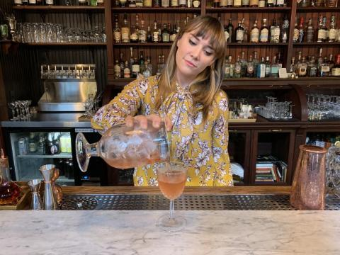 The author, Emma Witman, said there are certain drinks bartenders will judge customers for ordering.