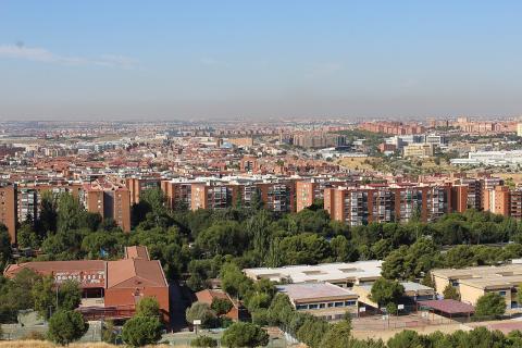 El barrio de Santa Eugenia, en el distrito madrileño de Villa de Vallecas
