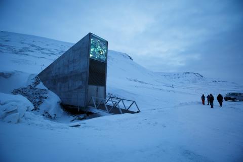 La bóveda de semillas Svalbard