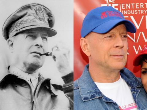 Bruce Willis puede haber sido el Comandante Supremo de las Potencias Aliadas.