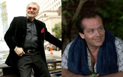 Burt Reynolds y Jack Nicholson.