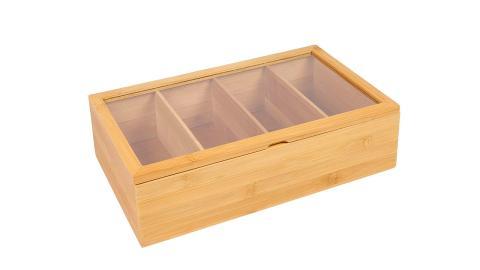 Caja para bolsas de té e infusiones Woodluv