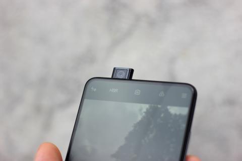 Cámara retráctil del Xiaomi Mi T9