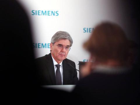 El CEO de Siemens, Joe Kaeser