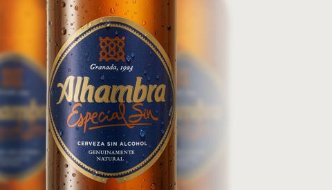 Cerveza Alhambra Sin Alcohol