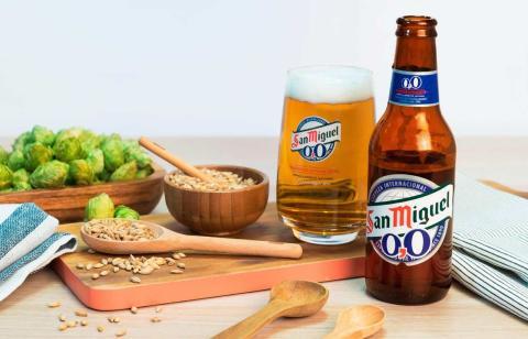 Cerveza San Miguel Sin Alcohol