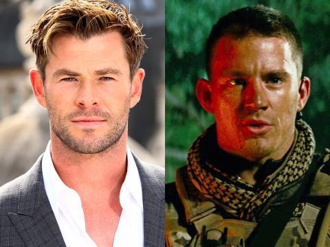 Chris Hemsworth y Channing Tatum.