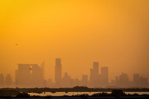Cielo en Emiratos Árabes Unidos