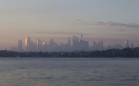 Contaminación en Sydney