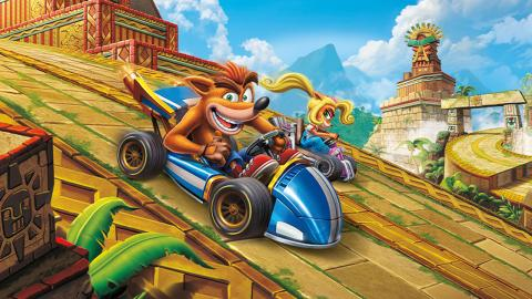 Crash Team Racing Nitro-Fueled carrera