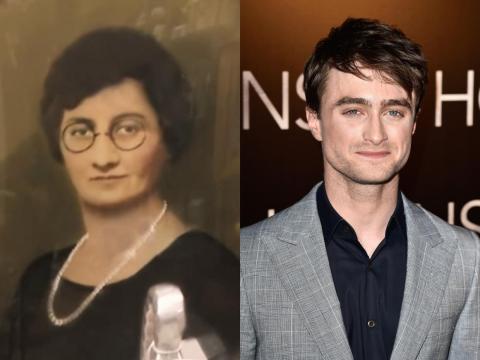 Dan Radcliffe se parece a muchas señoras mayores.