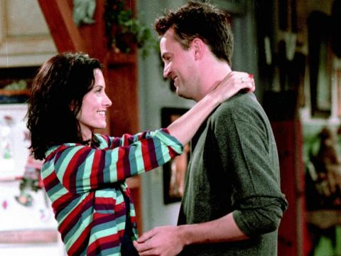 Monica and Chandler were friends for years before they began dating.