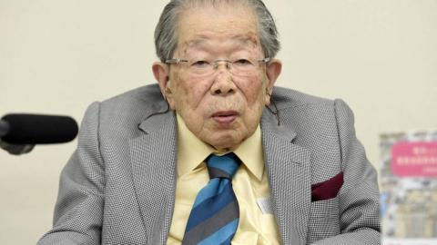 El Dr. Shigeaki Hinohara
