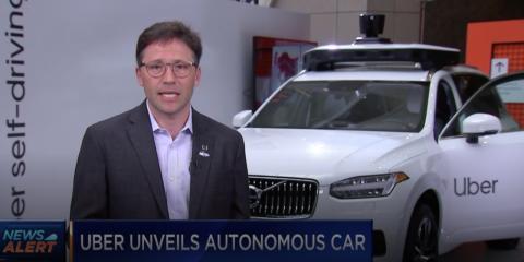 Eric Meyhofer, máximo responsable de conducción autónoma de Uber