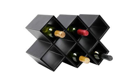 Estante geométrico para botellas MuGift por 49,07 euros