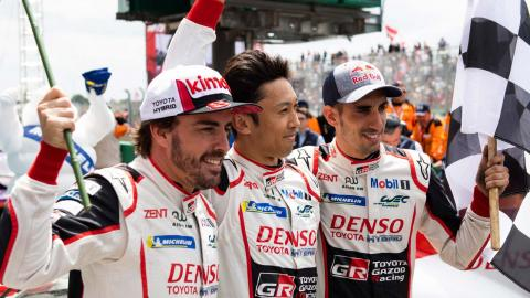 Fernando Alonso gana LeMans 2019 con Toyota