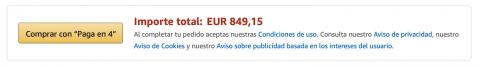 Financiación Amazon Paga en 4