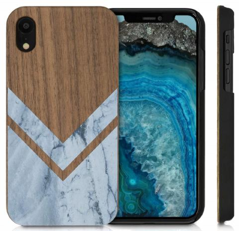 Funda de madera para iPhone Xr