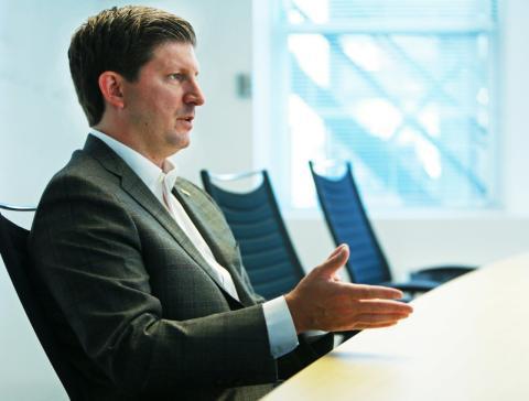 El fundador de la plataforma Quantopian, John Fawcett