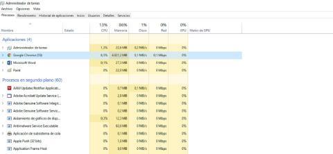 Uso de recursos de Google Chrome