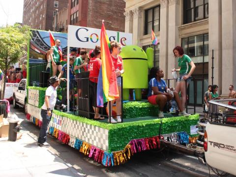 Carroza de Google