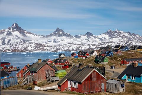 Habitantes de Groenlandia