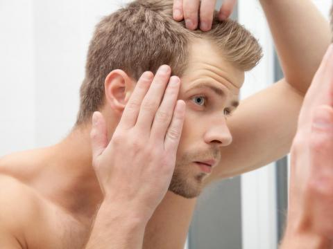 Hair loss could be a symptom of a larger medical issue.