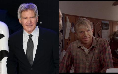 Harrison Ford y Sam Neill.
